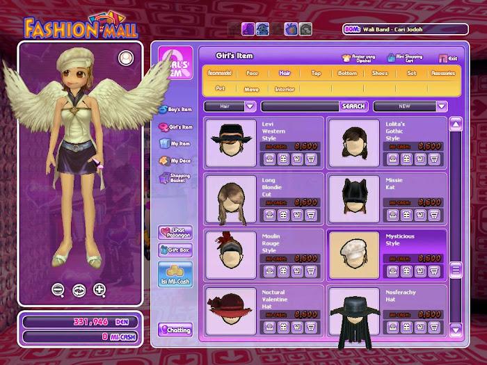 Gambar Game Ayodance Avatar Lv 99