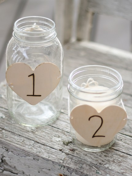 perfect as beautiful and inexpensive wedding centerpieces that double