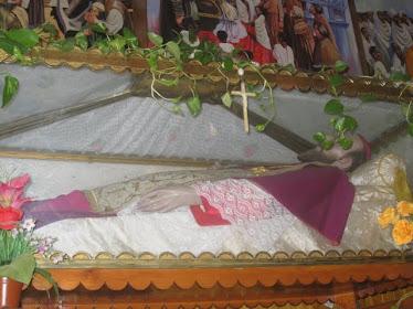 San Giustino De Jacobis il suo 150° anniverssario della nascinta in celo.