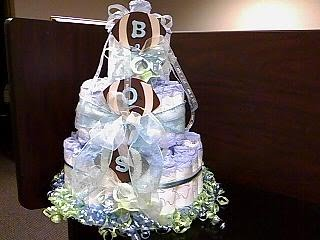 Sample picture of Large Diaper Cake