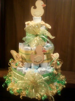 Duckie cake Large centerpiece size
