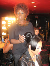 Doing Bianca Golden from (American Top Model) hair