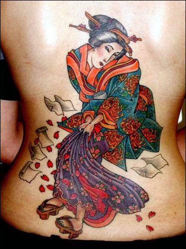 Labels: Japanese Back Tattoos Design