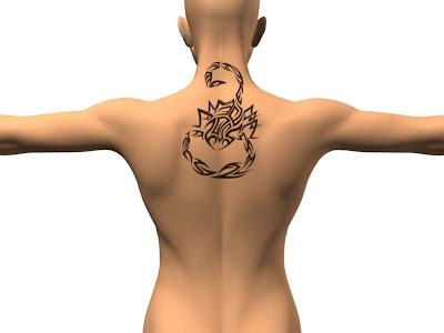 Label: New Scorpio Tattoo Design