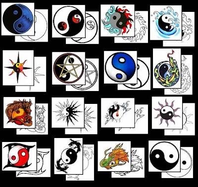 Choose For Yin Yang Tattoo Design