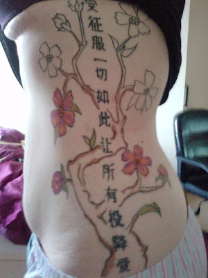 japanese oriental tattoo for girls
