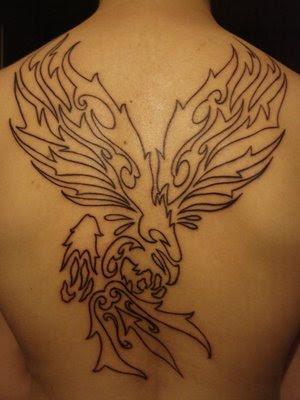 Etiketler: tribal hawk stencil tattoo
