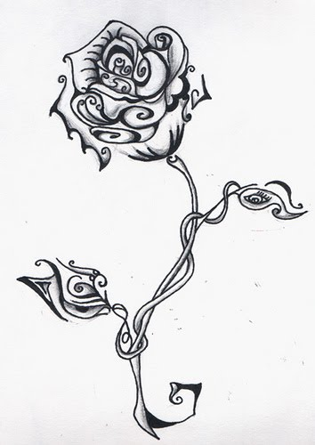 One of the most common among women is the flower tattoo designs.