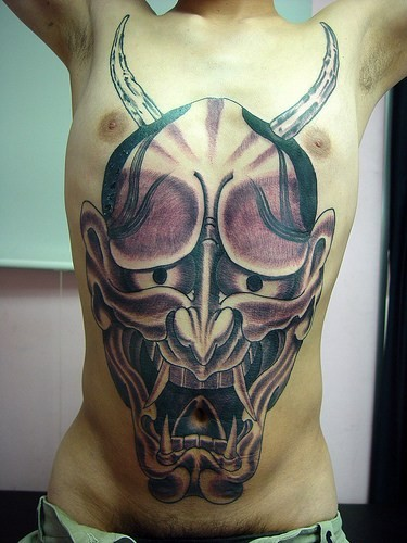 Labels: Japanese Hannya Tattoos