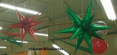 Estrela Metalizada com 12 pontas