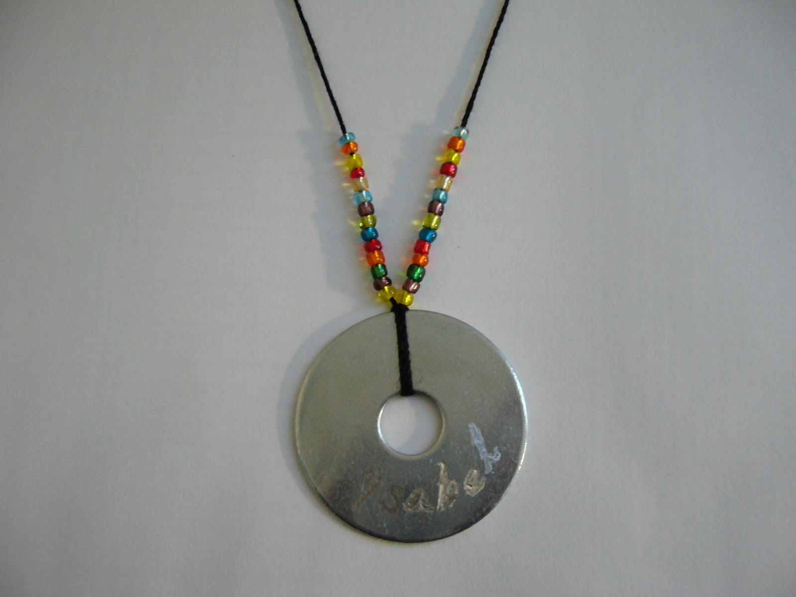 mixin it up with daperfectmix engraved washer necklace