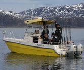 Rocad 706 SP fiskeutrustad