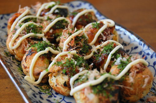 Takoyaki octopus - photo#17