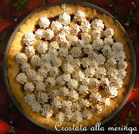 crostata alla meringa