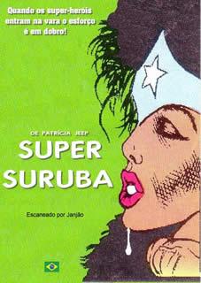 MULHER MARAVILHA - SUPER SURUBA - HENTAI