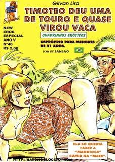TIMOTEO DEU UMA DE TOURO E VIROU VACA
