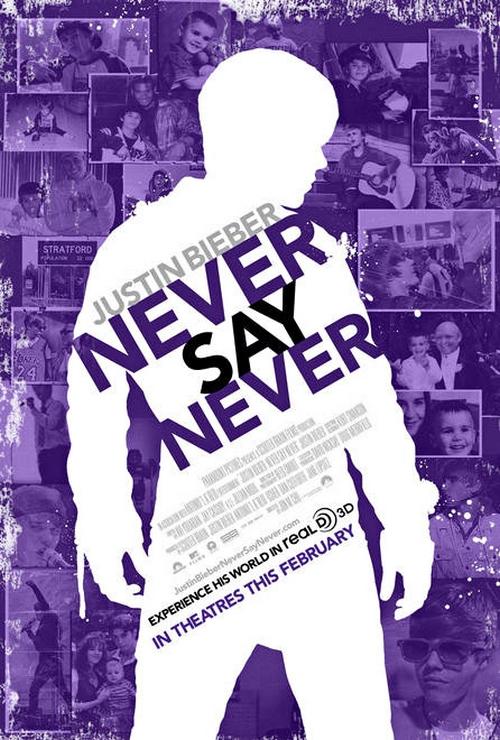 justin bieber movie poster. Justin Bieber 3d Poster.
