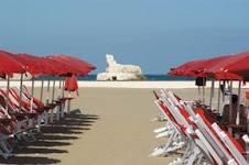 Il lido dell'Hotel Borgo Marina