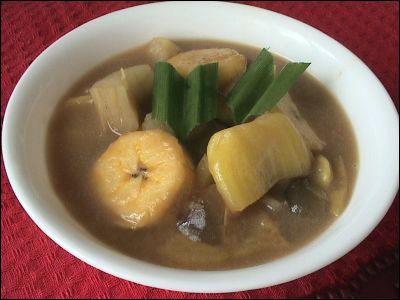 Cara membuat kolak pisang, ketela atau ubi