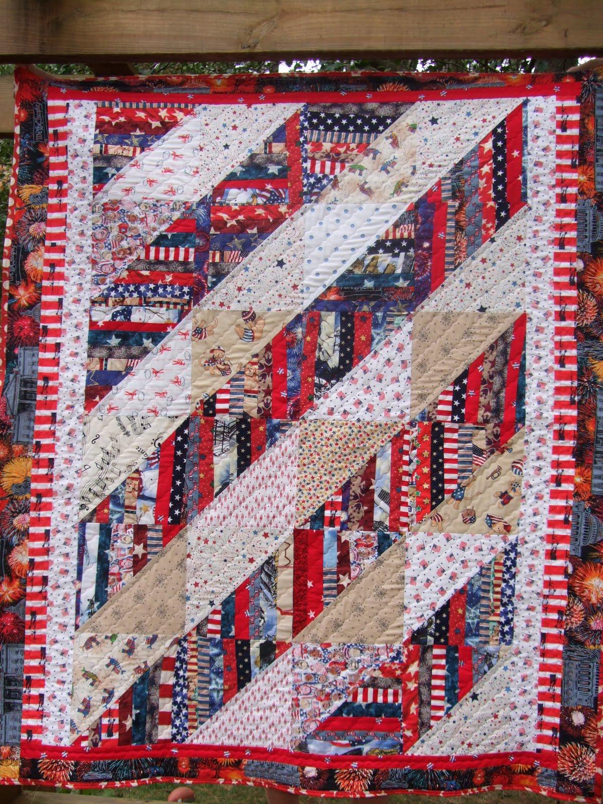 O Quilts: More Patriotic Quilts
