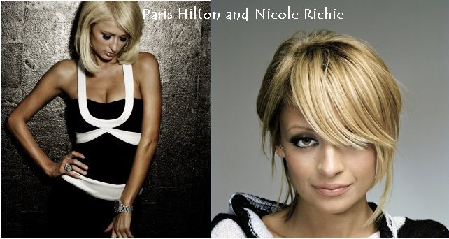 Nicole Richie and Paris Hilton