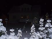 Talvinen kuva kodistamme
