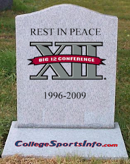 big12 rip Conference Realignment Dominoes Continue To Line Up...Ready To Fall