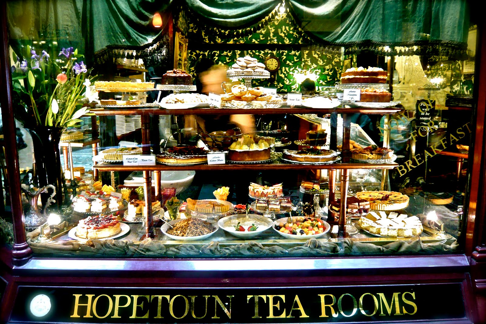 The Hopetoun Tea Rooms Melbourne