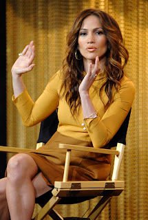 Jennifer Lopez at Winter TCA Press Tour