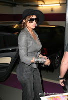 Jennifer Lopez at Hyatt Hotel Parking Garage