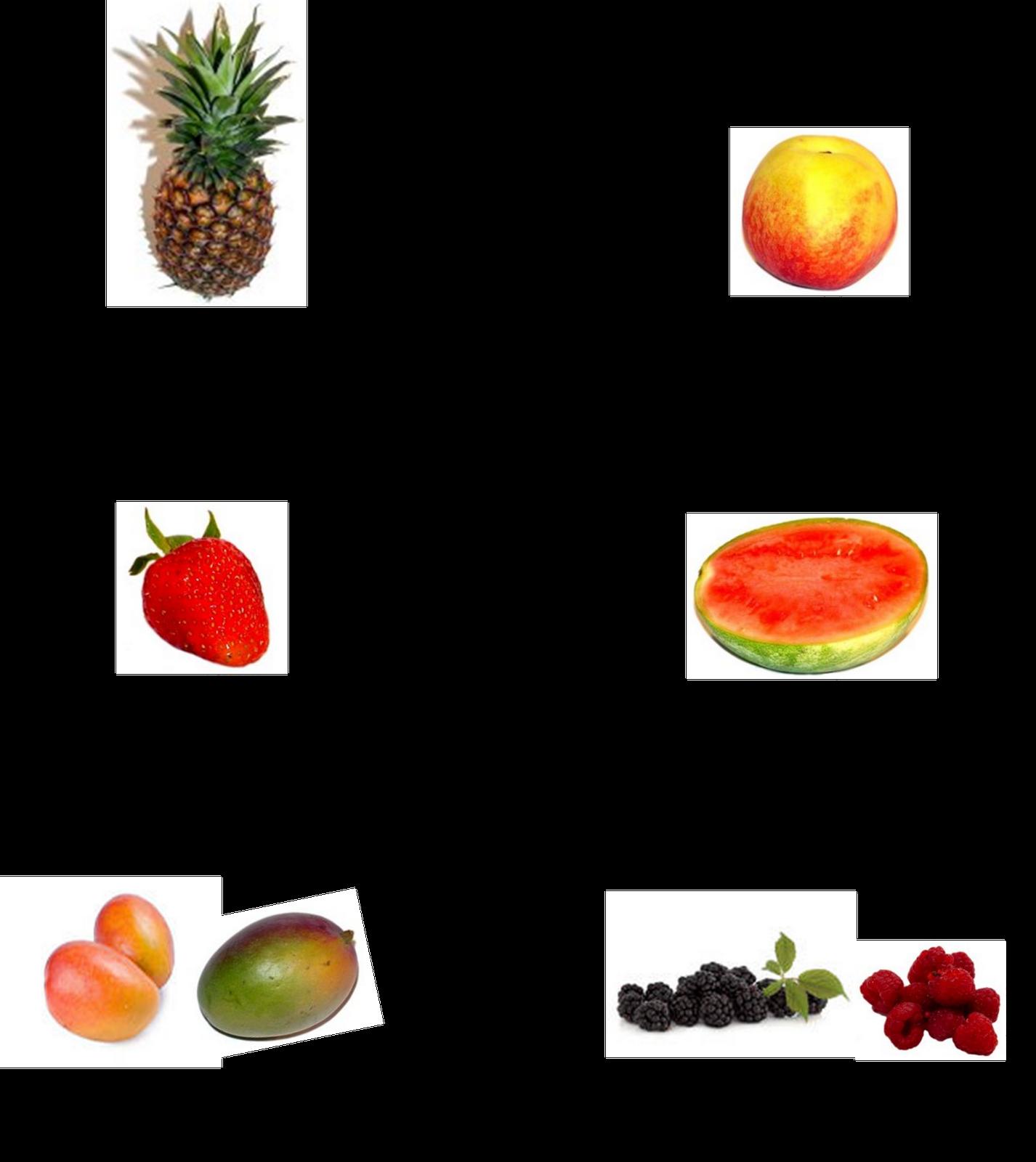 La casa del húngaro: Gyümölcsök - Frutas