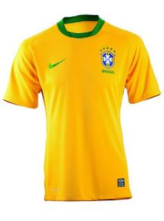 Camisa oficial da seleção brasileira
