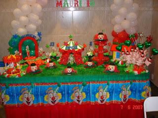 Festa infantil como preparar a mesa
