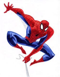 Assaltante homem-aranha