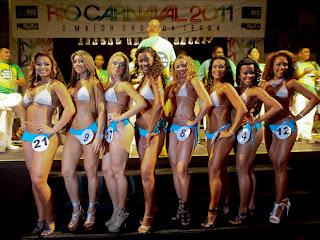 Finalistas Concurso Rainha do Carnaval 2011