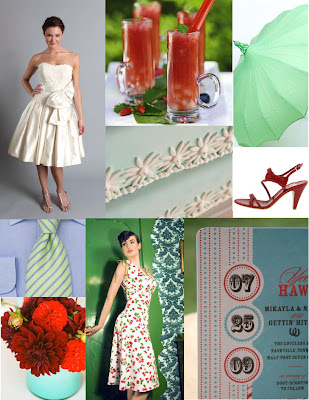 wedding vintage Inspiration Board Contest 3