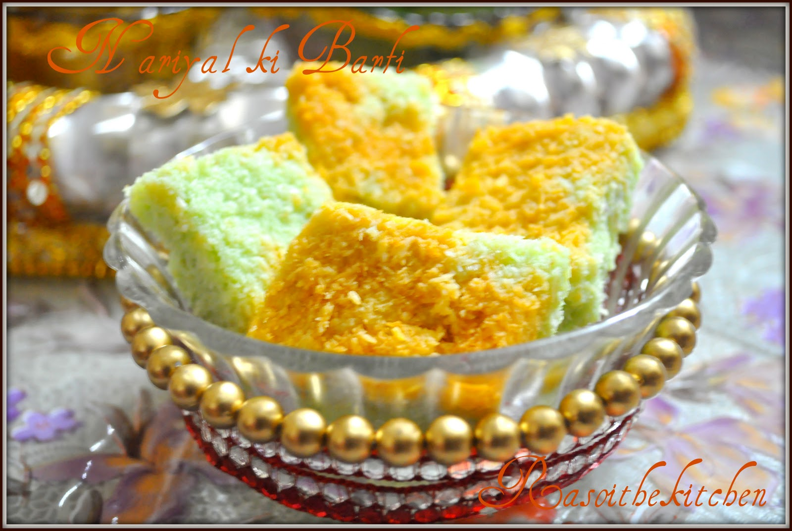 Pin Coconut Barfi From Mom's Corner Cake on Pinterest