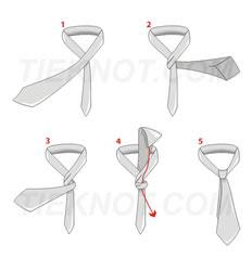 Como dar o nó da Gravata