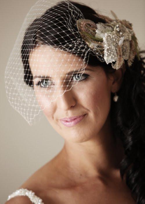 loretta vintage wedding headpiece