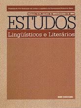Revista Estudos Linguísticos e Literários.