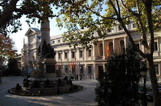 Palacio Senado de España. Foto Félix Lavilla 15 de diciembre de 2009