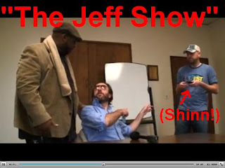 Shinn's guest stint on 'The Jeff Show'