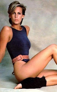Before Activia, Jamie Lee had the guts to probably being going commando in this getup
