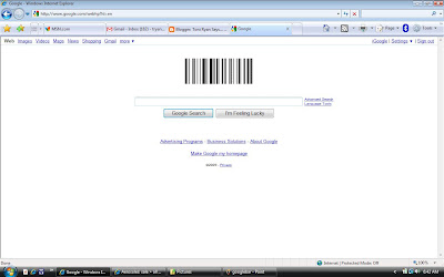 Cmon Google, you know I don't read barcode.