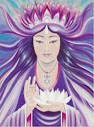Mestra Kwan Yin. A minha Amada Mestra que escolheu consagrar o meu Tarot