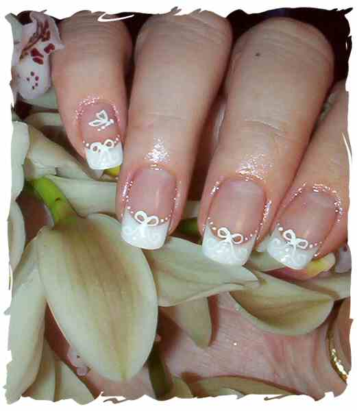 Nail Art Gallery: Wedding Nail Art Design 2011