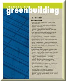 Journal of Greenbuilding Vol 4 No 2
