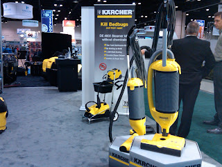 ISSA 2010: Karcher vacuums