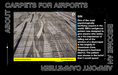 The Colorful World of Airport Carpet - Singapore