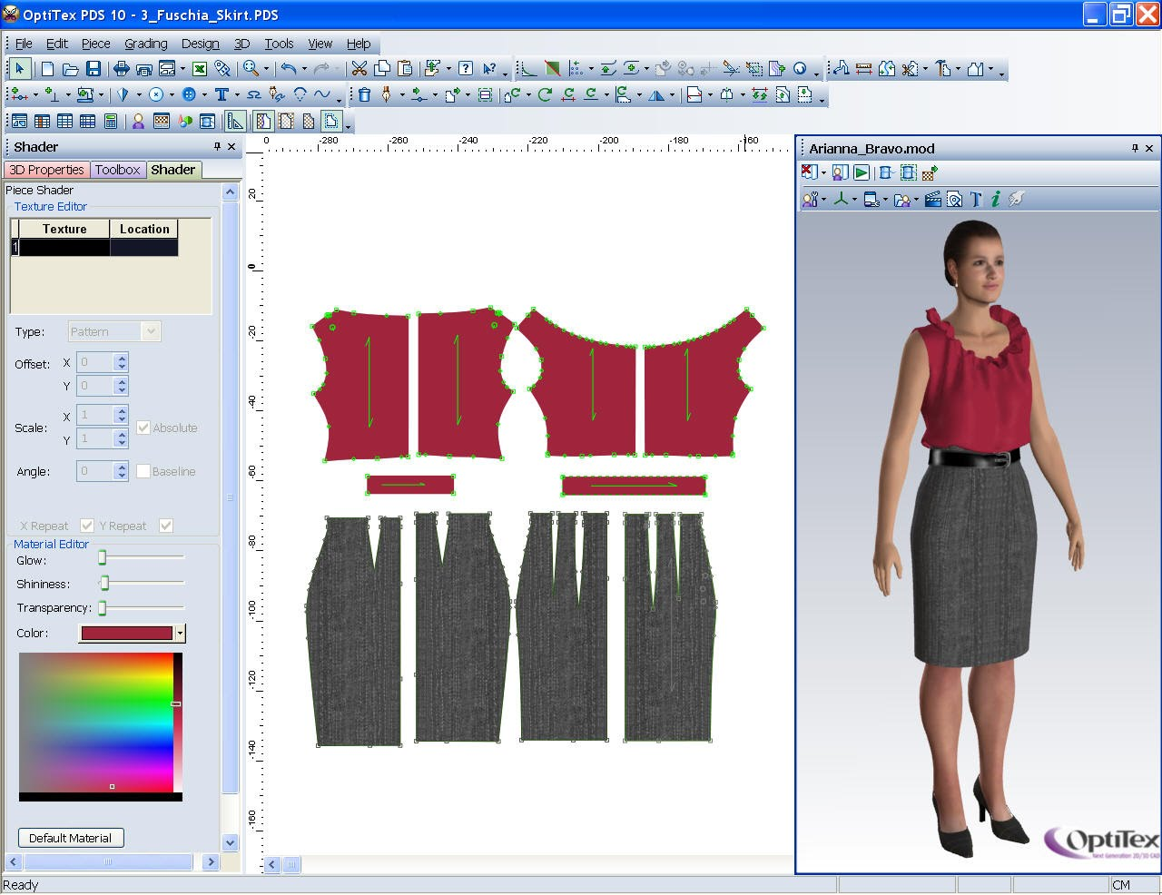 Computer Aided Fashion Design Uses of CAD CAM technologies
